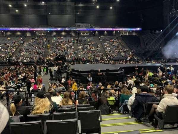AccorHotels Arena, secção: F, fila: 21, lugar: 7