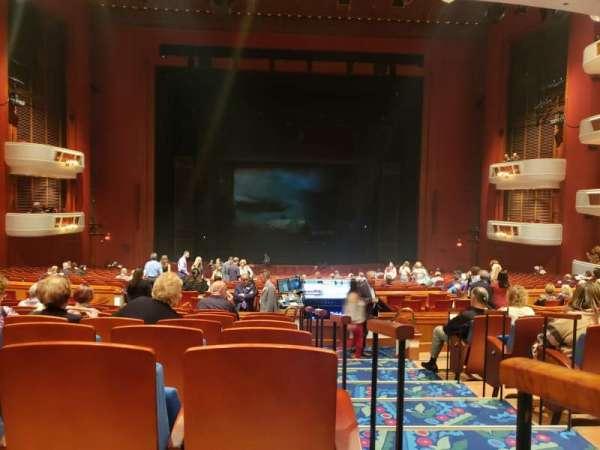 Au-Rene Theatre at the Broward Center, secção: Orchestra C, fila: JJ, lugar: 101