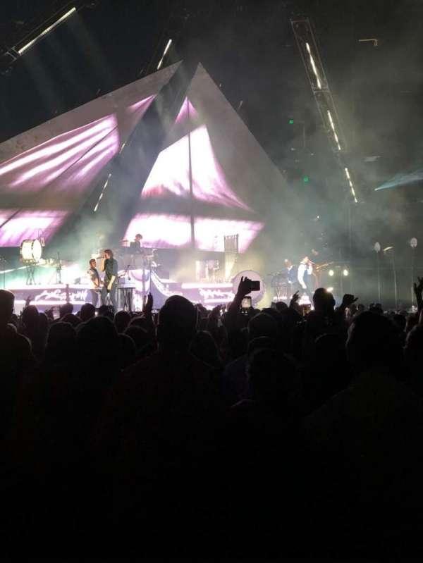 Amalie Arena, secção: 116, fila: A, lugar: 13