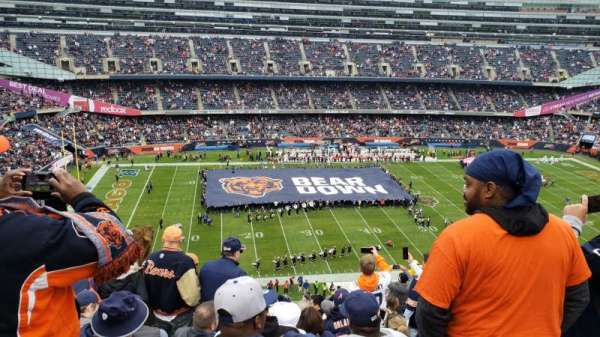 Soldier Field, secção: 440, fila: 12, lugar: 14