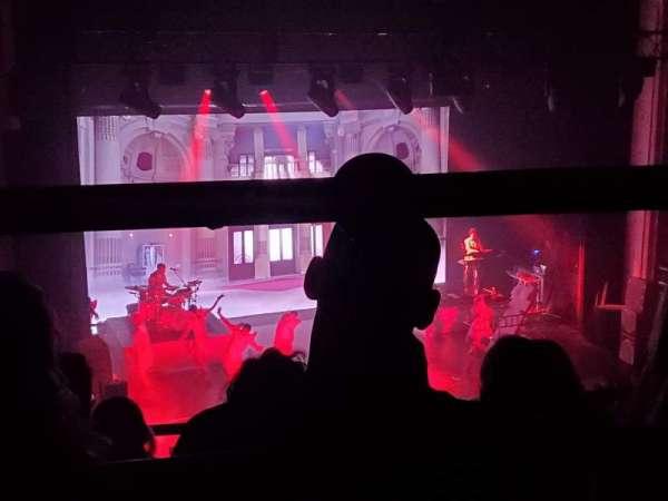 Orpheum Theatre (Boston), secção: Balcony L, fila: D, lugar: 111