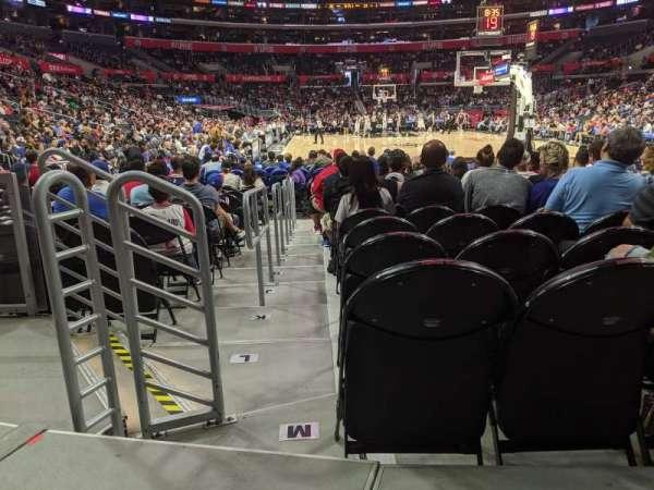 Staples Center, secção: 115, fila: 3, lugar: 10