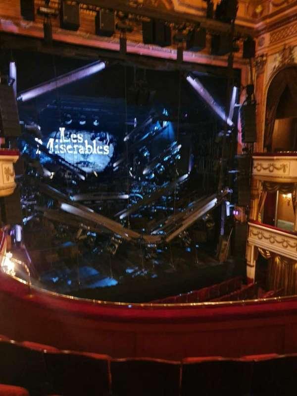 Gielgud Theatre, secção: Dress circle, fila: D, lugar: 28