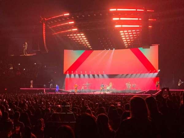 MGM Grand Garden Arena, secção: 8, fila: C, lugar: 9