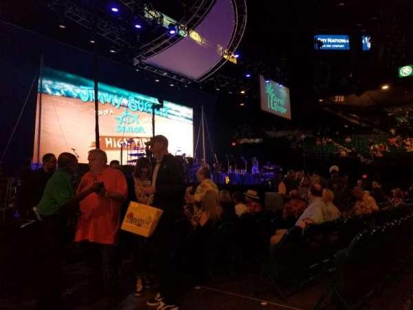 MGM Grand Garden Arena, secção: Floor 19, fila: BB, lugar: 1