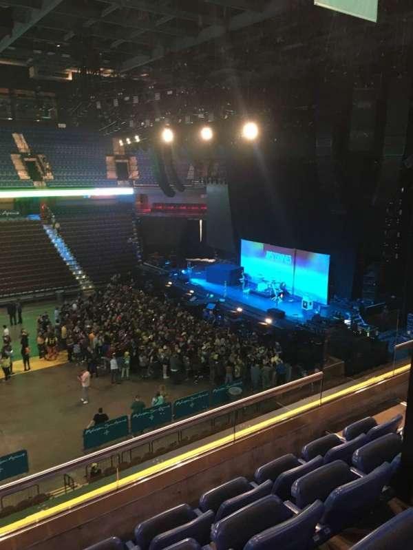 Mohegan Sun Arena, secção: 107, fila: D, lugar: 6