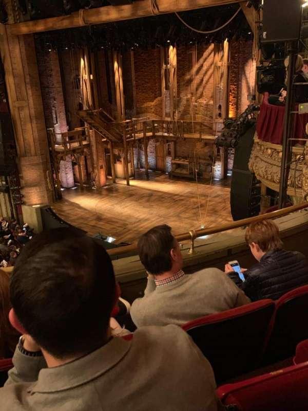 CIBC Theatre, secção: Balcony R, fila: C, lugar: 18