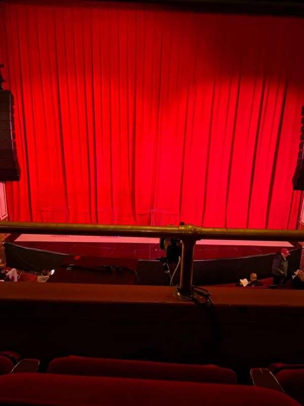 The Apollo Theater, secção: Center Lower Mezzanine, fila: B, lugar: 108