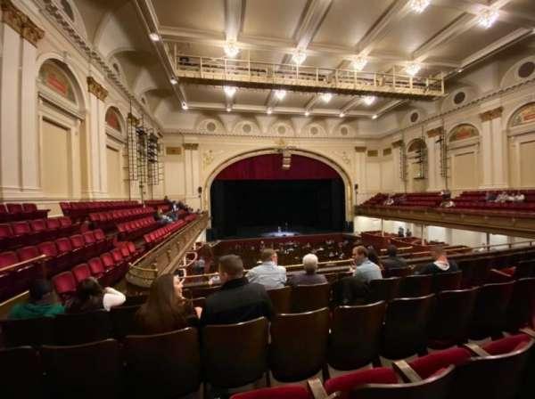 Modell Performing Arts Center, secção: Dress Circle, fila: E, lugar: 7