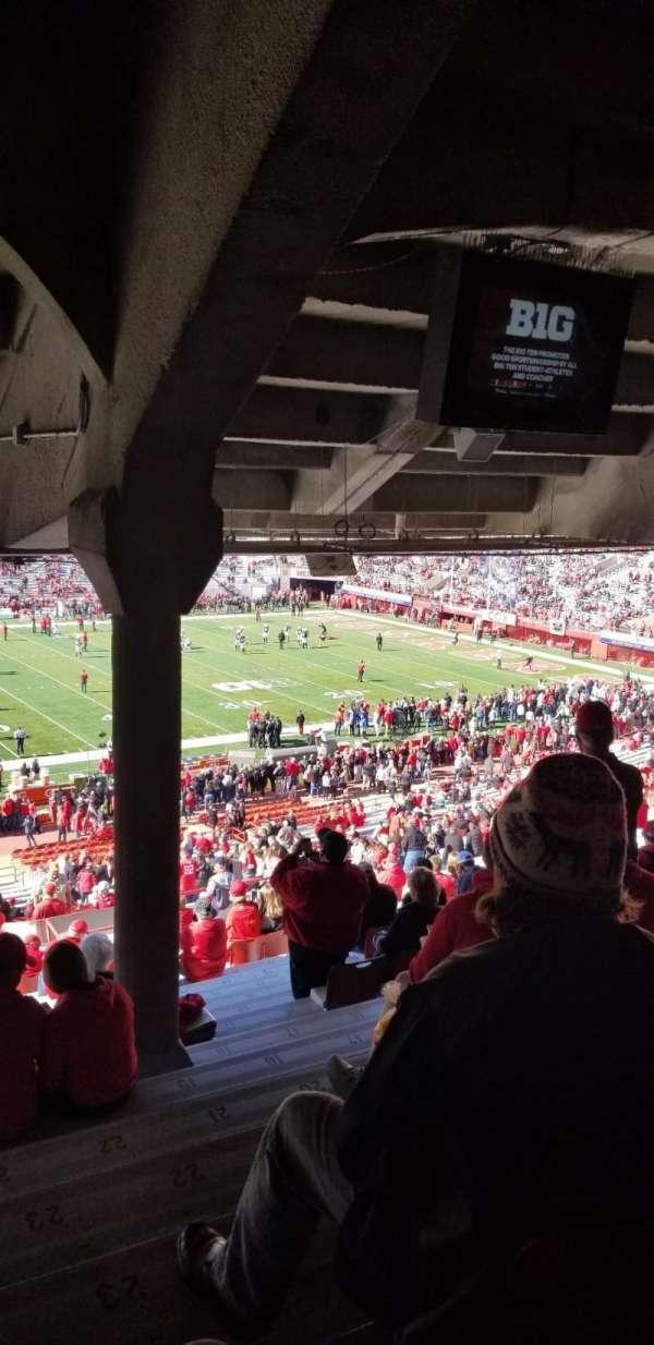 Memorial Stadium (Lincoln), secção: 7, fila: 44, lugar: 23