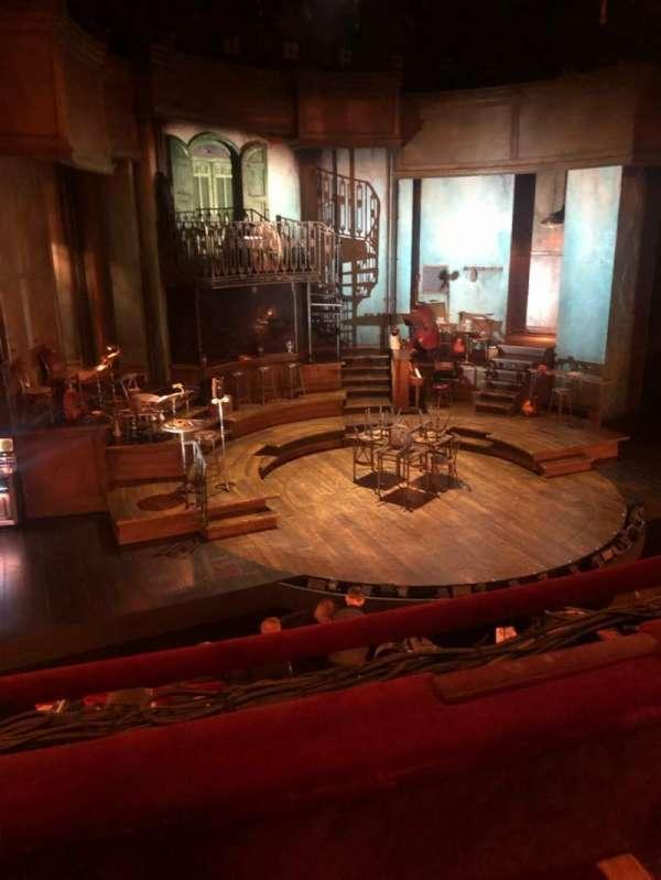 Walter Kerr Theatre, secção: Mezzanine L, fila: B, lugar: 5