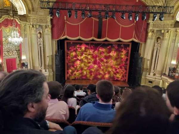 Symphony Hall, Boston, secção: Mezzanine LC, fila: H, lugar: 107