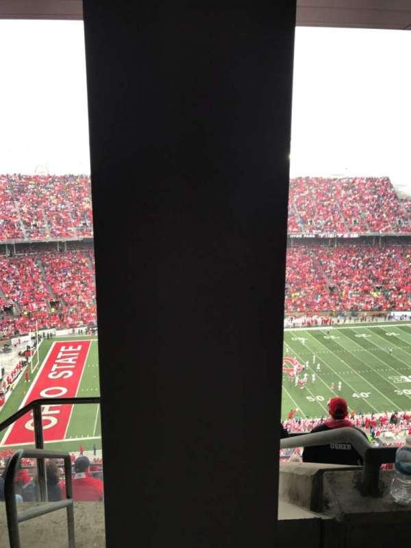 Ohio Stadium, secção: 19D, fila: 7, lugar: 1
