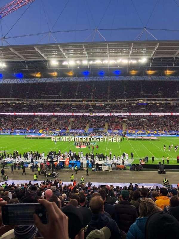 Wembley Stadium, secção: 122, fila: 39, lugar: 298