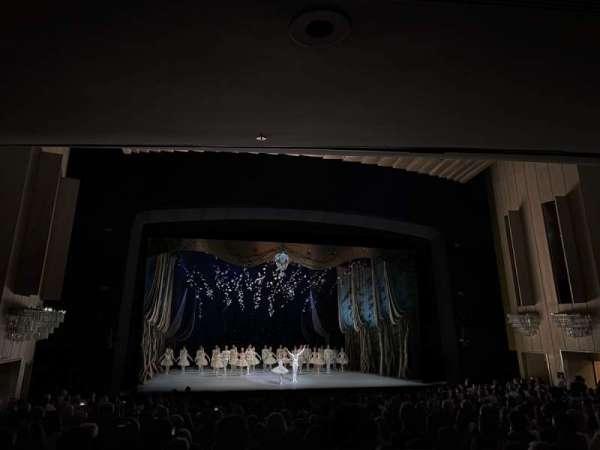 Dorothy Chandler Pavilion, secção: Orchestra, fila: W, lugar: 49