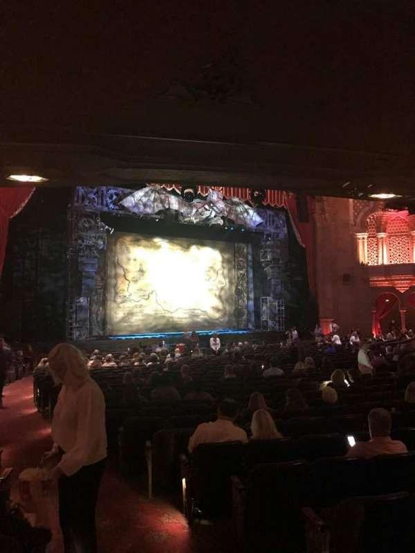 Fox Theatre (Atlanta), secção: Orchestra L, fila: CC, lugar: 3