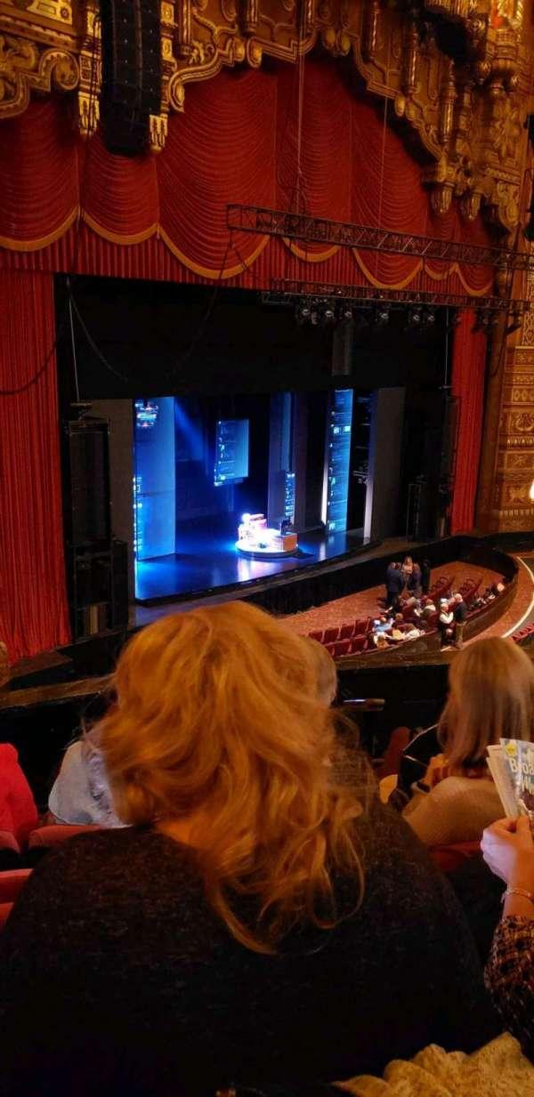 The Fabulous Fox Theatre (St. Louis), secção: MZ01, fila: DD, lugar: 59