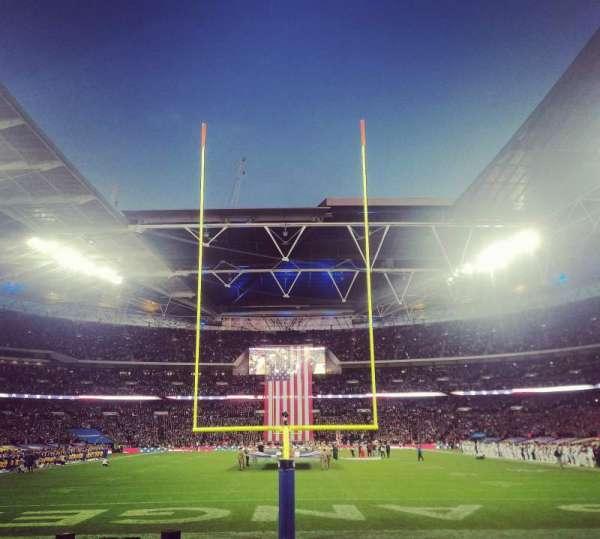 Wembley Stadium, secção: 134, fila: 8, lugar: 1