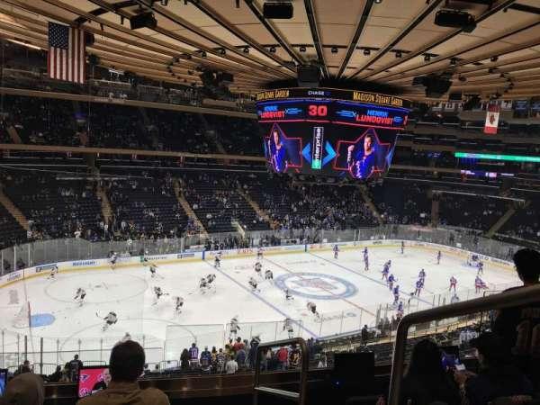 Madison Square Garden, secção: 221, fila: 5, lugar: 21