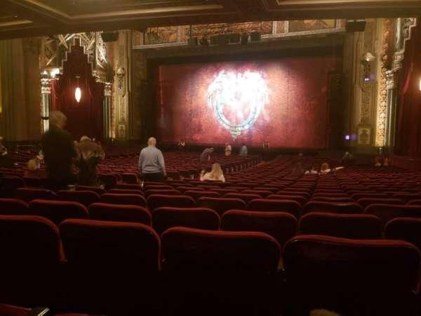 Hollywood Pantages Theatre, secção: Orchestra RC, fila: SS, lugar: 207