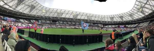 London Stadium, secção: 133, fila: 2, lugar: 344