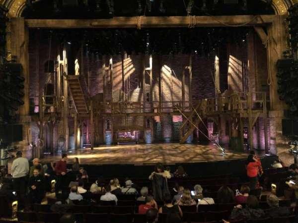 Richard Rodgers Theatre, secção: Orchestra C, fila: N, lugar: 108