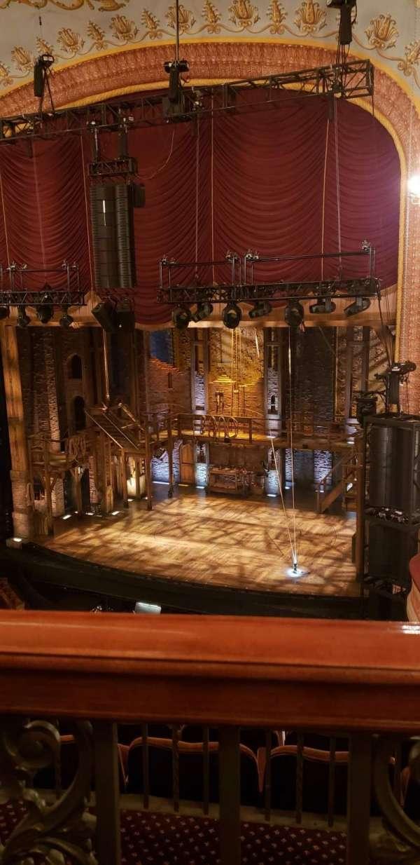 Forrest Theatre, secção: Rear Mezzanine D, fila: A, lugar: 12