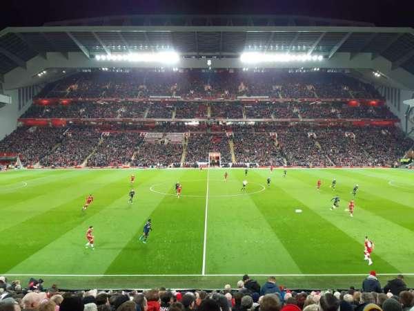 Anfield, secção: KK, fila: 24, lugar: 124