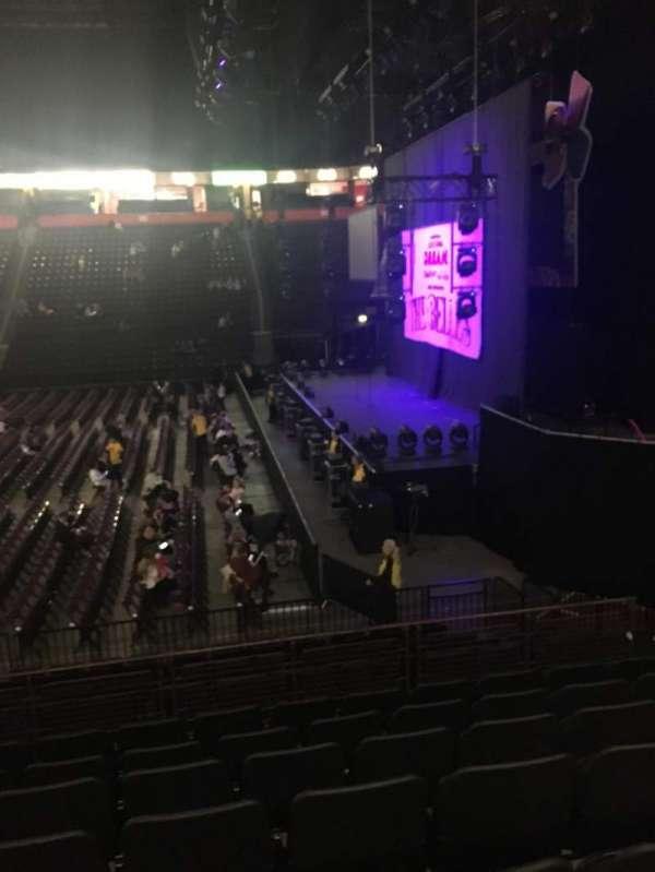 Manchester Arena, secção: 115, fila: N, lugar: 21
