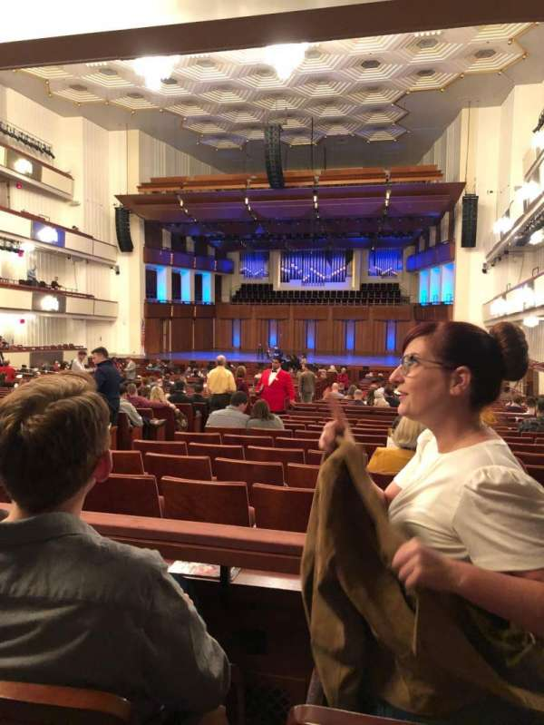 The Kennedy Center Concert Hall, secção: Orchestra, fila: 4, lugar: 8