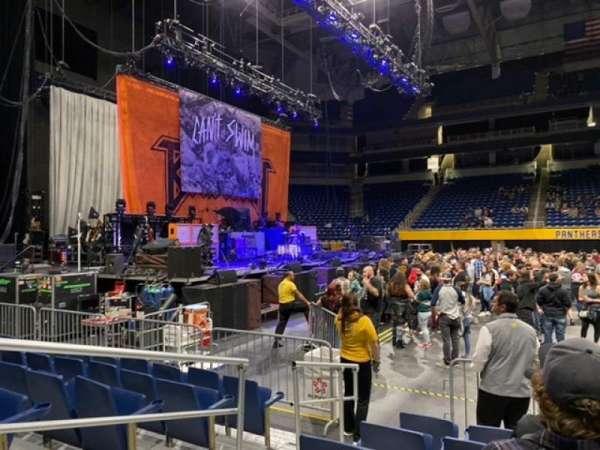 Petersen Events Center, secção: 6E, fila: H, lugar: 12