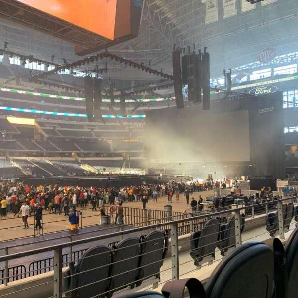 AT&T Stadium, secção: C112, fila: 5, lugar: 10