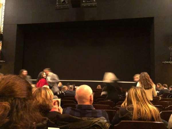 Bernard B. Jacobs Theatre, secção: Orchestra C, fila: K, lugar: 104