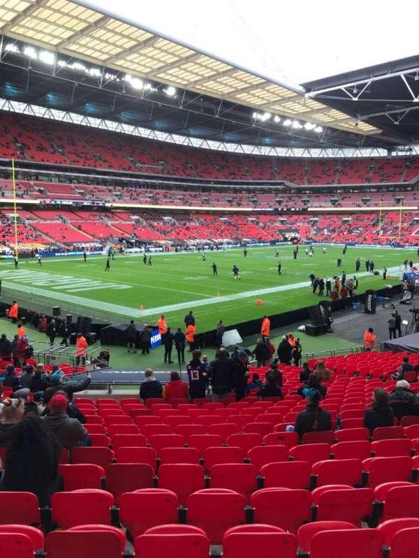 Wembley Stadium, secção: 128, fila: 26, lugar: 128