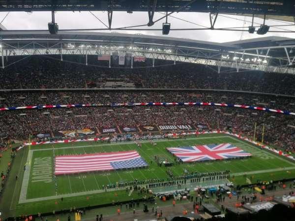 Wembley Stadium, secção: 504, fila: 32, lugar: 94
