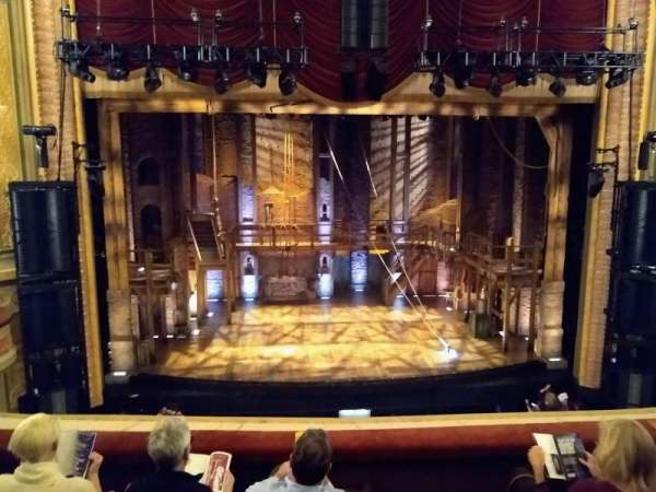 Forrest Theatre, secção: Front Mezzanine C, fila: D, lugar: 111