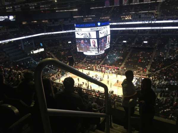 Barclays Center, secção: 221, fila: 11, lugar: 18