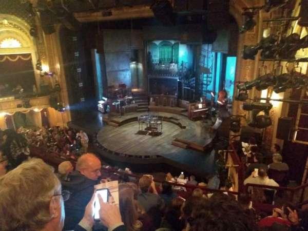 Walter Kerr Theatre, secção: Mezzanine R, fila: F, lugar: 26