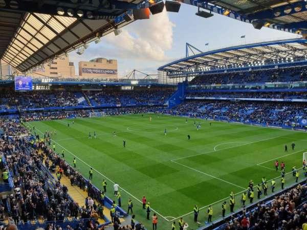 Stamford Bridge, secção: Matthew Harding Upper 16, fila: H, lugar: 179