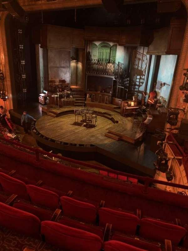 Walter Kerr Theatre, secção: Mezzanine R, fila: D, lugar: 20