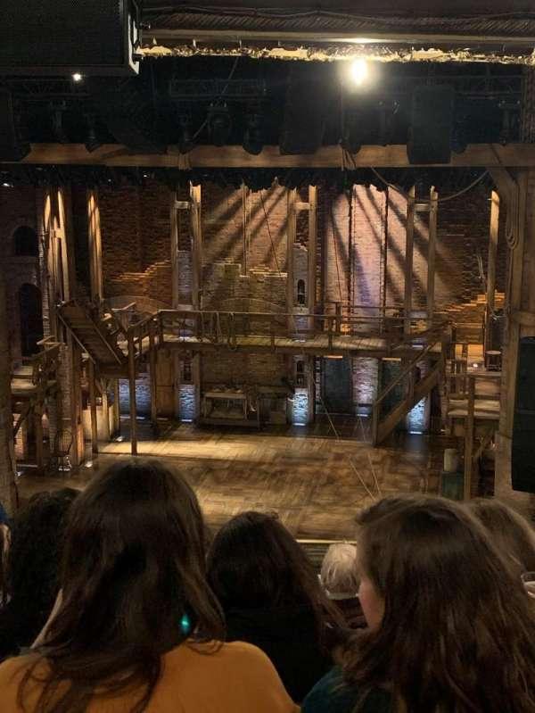 CIBC Theatre, secção: Mezzanine RC, fila: K, lugar: 318