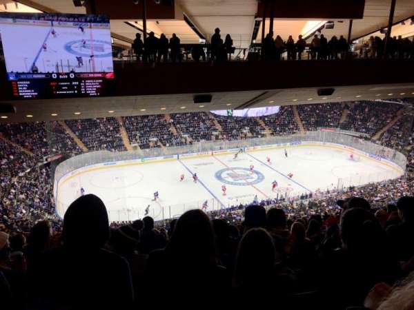 Madison Square Garden, secção: 209, fila: 21, lugar: 7