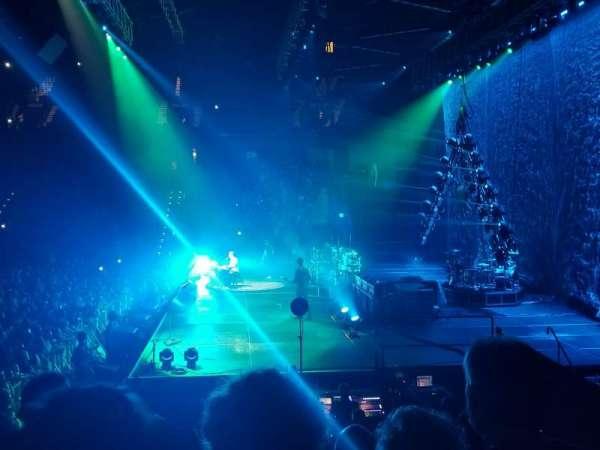 Mohegan Sun Arena, secção: 14, fila: M, lugar: 12
