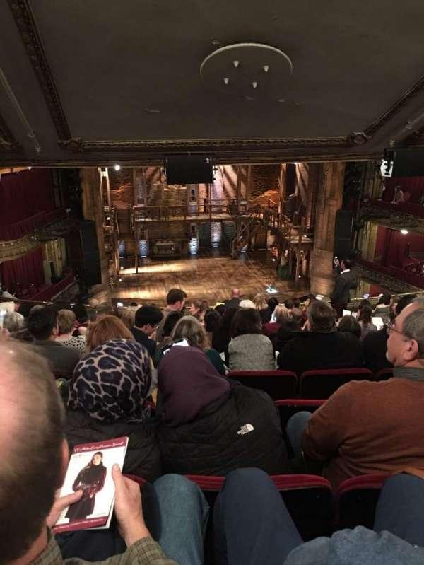 CIBC Theatre, secção: Mezzanine LC, fila: M, lugar: 317