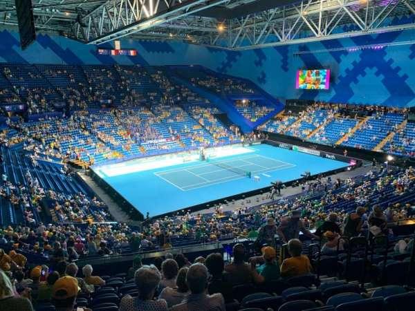 RAC Arena, secção: 309, fila: Q, lugar: 6
