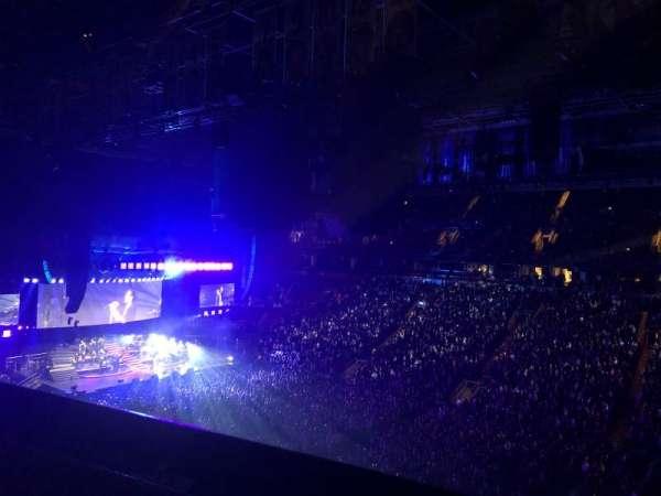 Scotiabank Arena, secção: 307, fila: 3, lugar: 4