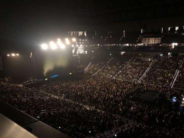 Dickies Arena, secção: 222, fila: 1, lugar: 1