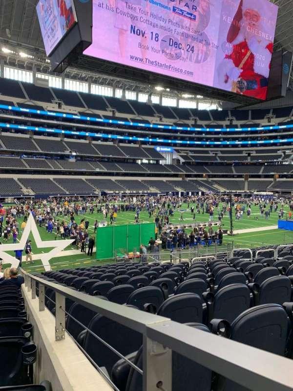 AT&T Stadium, secção: 142, fila: 16, lugar: 1