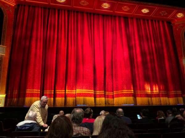 Marquis Theatre, secção: Orchestra C, fila: H, lugar: 104