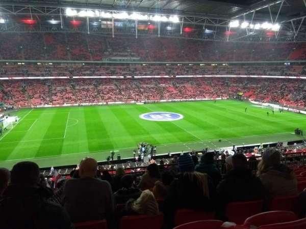 Wembley Stadium, secção: 203, fila: 15, lugar: 36